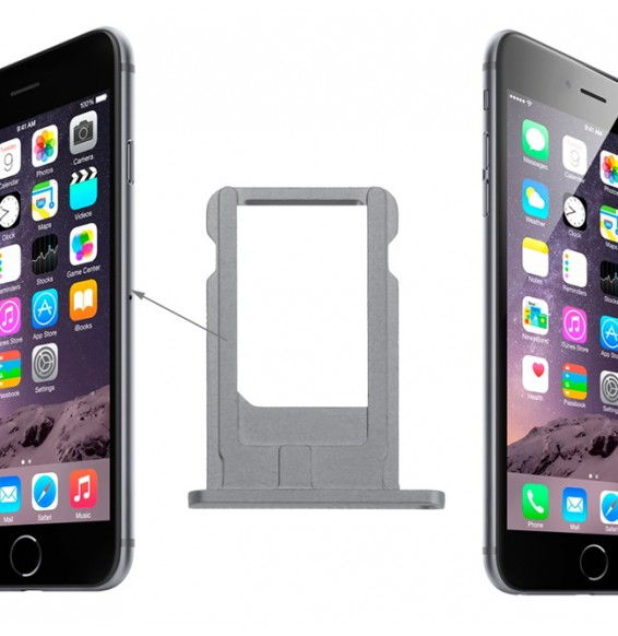 Card Tray for iPhone 6 (Grey)
