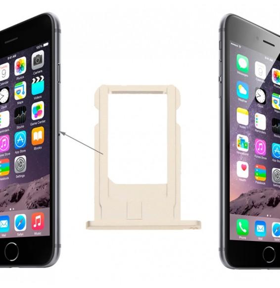 Tiroir carte SIM pour iPhone 6 (Gold)