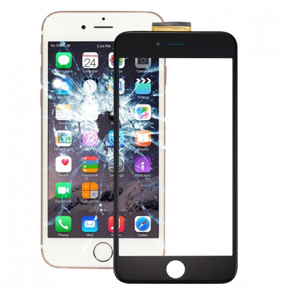 Touch Panel with Frame & Adhesive for iPhone 6s Plus (Black)