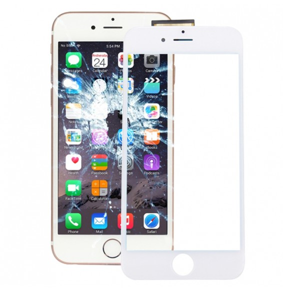 Touch Panel with Frame & Adhesive for iPhone 6S (White)