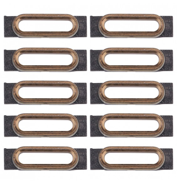 10pcs for iPhone 7 Charging Port Retaining Brackets(Gold)