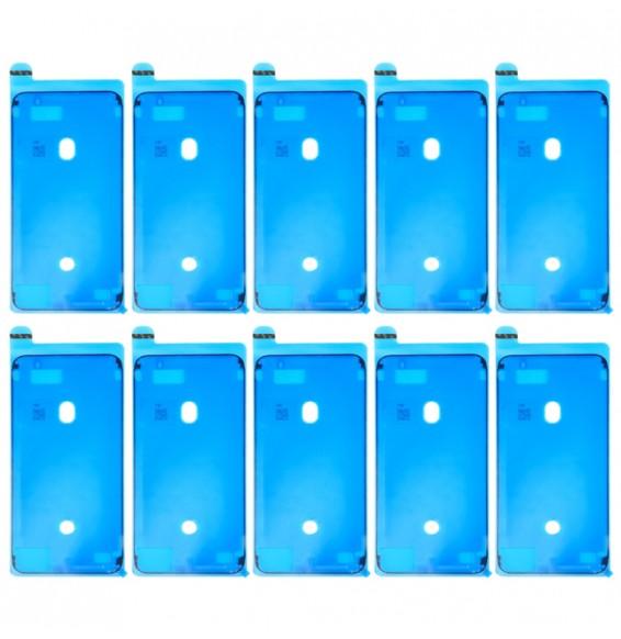 10pcs sticker étanchéité LCD pour iPhone 8 Plus (Noir)
