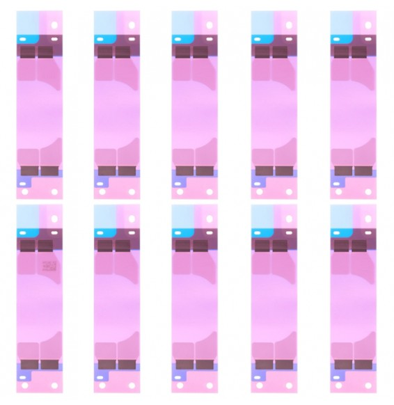 10pcs Battery Adhesive Tape Stickers for iPhone 8