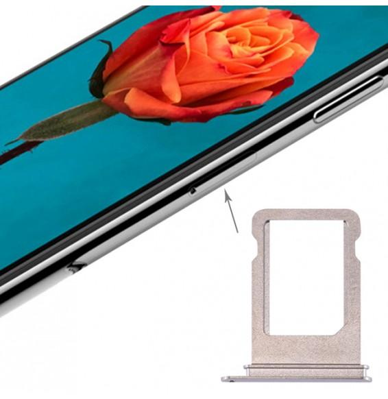 Tiroir carte SIM pour iPhone X (Argent)