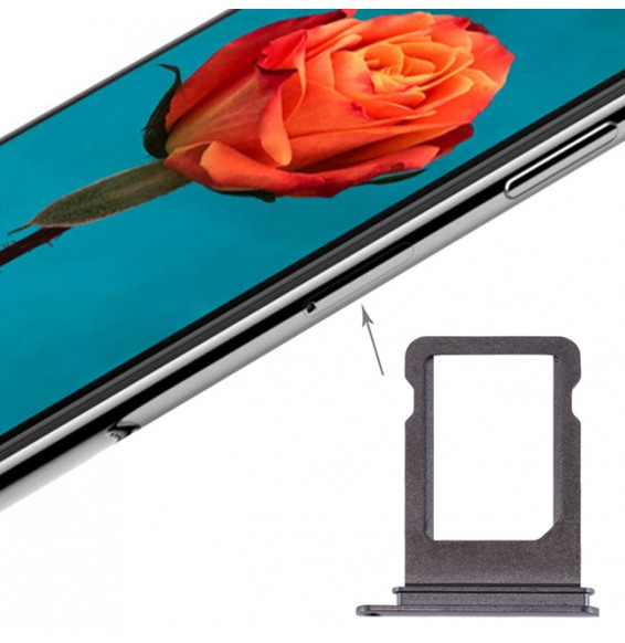 SIMkartenhalter Fach für iPhone X (Grau)