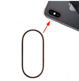 Rear Camera Metal Hoop Ring for iPhone XS & XS Max (Gold)