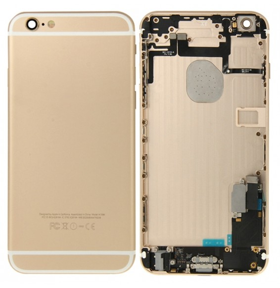 Back Housing Cover Assembly for iPhone 6 Plus (Gold)