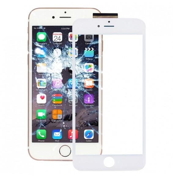 Bildschirm Glas mit OCA filter (transparent) für iPhone 6s Plus (weiß)