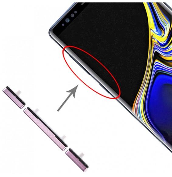 10 Set Side Keys for Galaxy Note 9 (Purple)