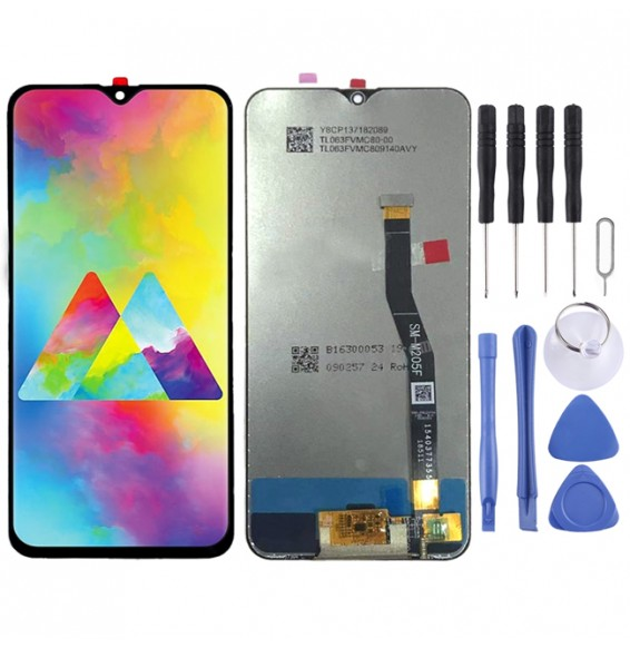 LCD Screen and Digitizer Full Assembly for Galaxy M20 (Black)