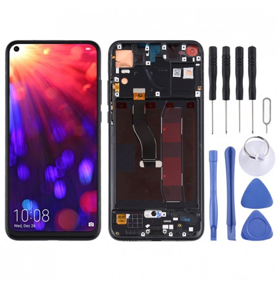 LCD Screen with Frame for Huawei Honor View 20 (Black)