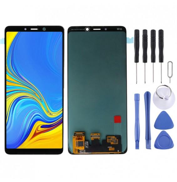 LCD Bildschirm für Galaxy A9 (2018), A9 Star Pro, A9s, A920F/DS, A9200 (schwarz)