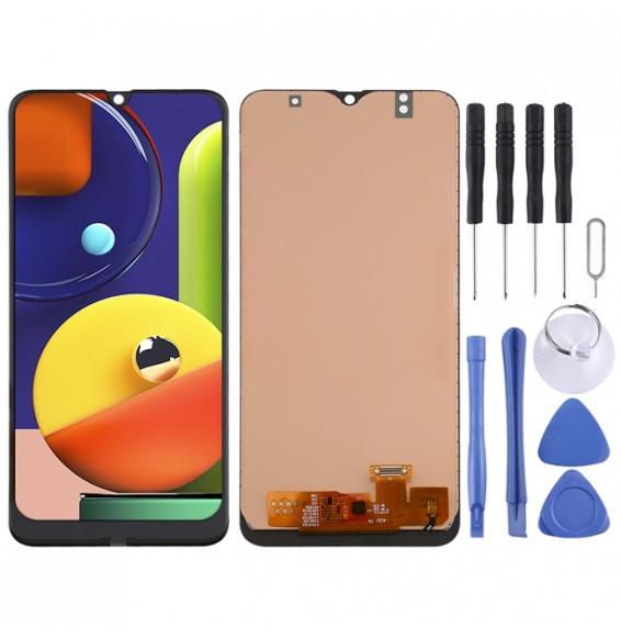 LCD Bildschirm für Samsung Galaxy A30 / A50 / A50s (Schwarz)