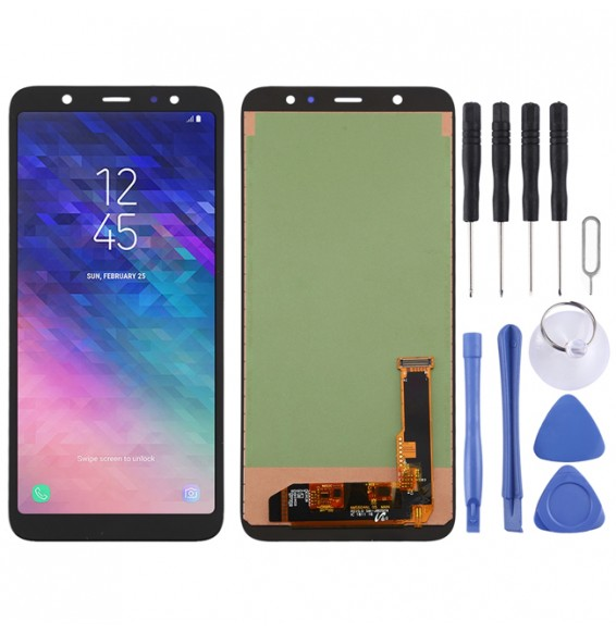 incell LCD Screen for Galaxy A6+ (2018)(Black)