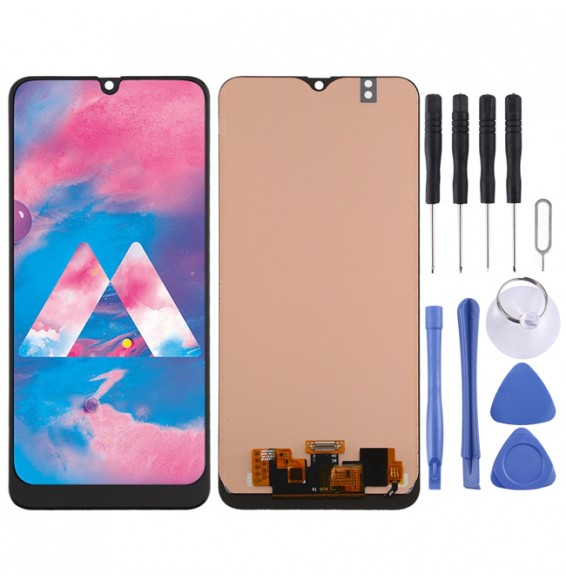 incell LCD Screen and Digitizer Full Assembly for Galaxy M30 / M30s (Black)
