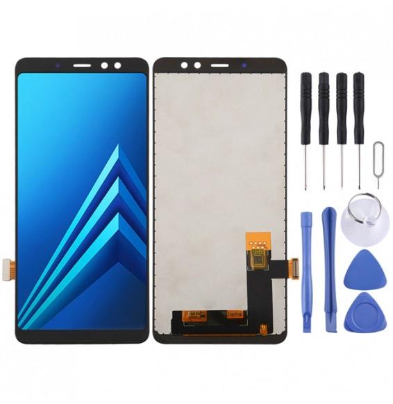 Écran LCD complet pour Galaxy A8+ (2018) A730F, A730F/DS (Noir)