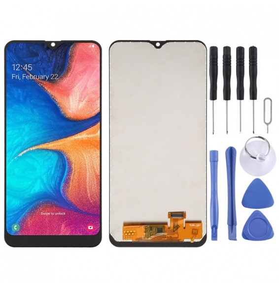 incell LCD Screen and Digitizer Full Assembly for Galaxy A20 A205F/DS, A205FN/DS, A205U, A205GN/DS, A205YN, A205G/DS, A205W (Black)