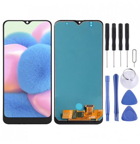 incell LCD Screen for Galaxy A30S (Black)