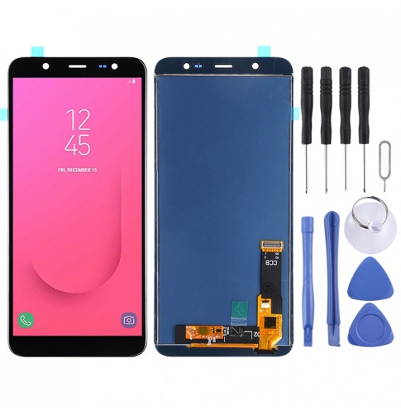 LCD Screen and Digitizer Full Assembly (TFT Material) for Galaxy J8, J810F/DS, J810Y/DS, J810G/DS(Black)
