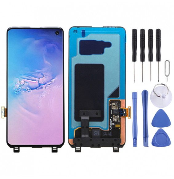 LCD Screen for Galaxy S10 (Black)