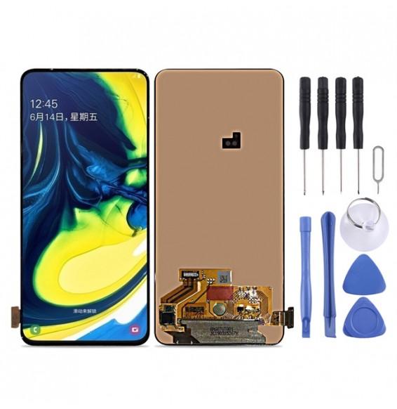 Original LCD Bildschirm für Samsung Galaxy A80 A90 SM-A805 (Schwarz)