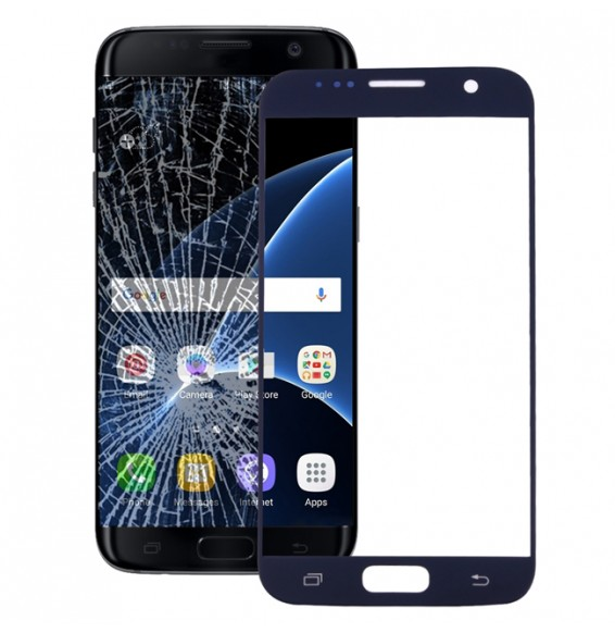 Outer Glass Lens for Galaxy S7 / G930 (Black)