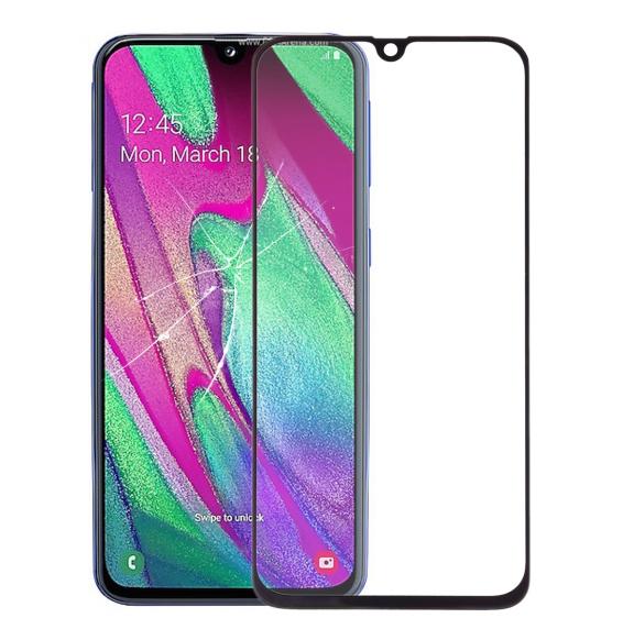 LCD glas für Samsung Galaxy A40 SM-A405F (Schwarz)