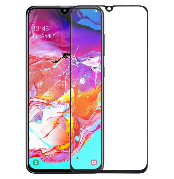 LCD glas für Samsung Galaxy A70 SM-A705 (Schwarz)