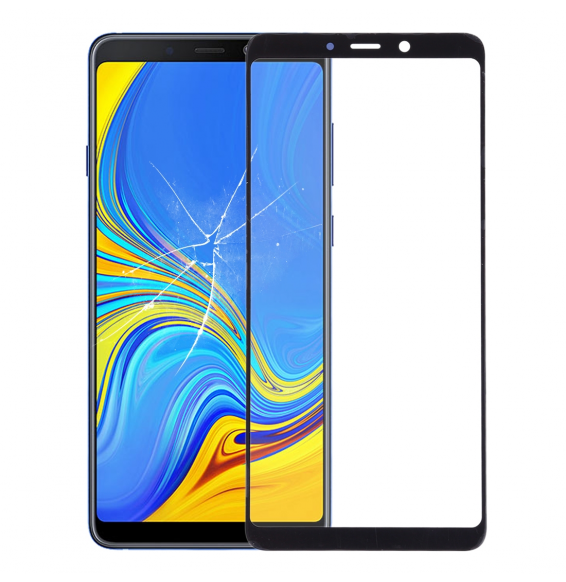Outer Glass Lens for Galaxy A9 (2018) / A9s (Black)