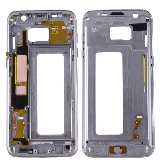 Châssis LCD pour Samsung Galaxy S7 Edge SM-G935 (Gris)
