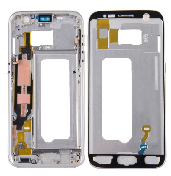 LCD Frame for Galaxy S7 / G930 (Silver)
