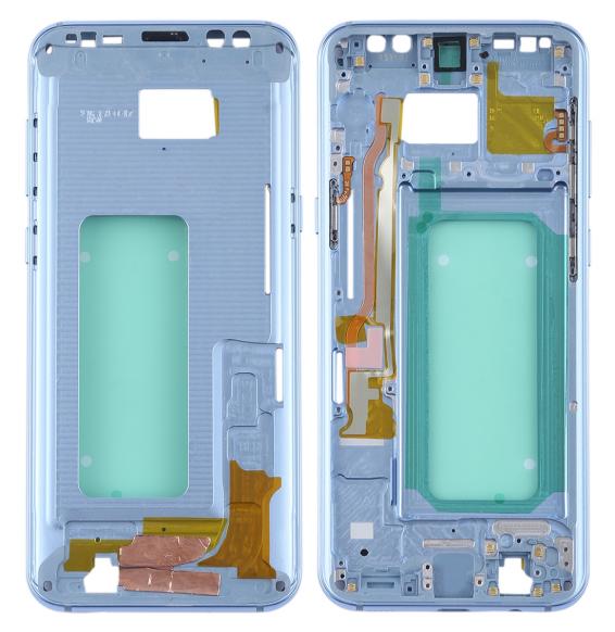 Châssis pour Galaxy S8+ / G9550 / G955F / G955A (bleu)