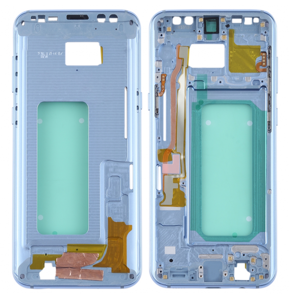 Middle Frame Bezel for Galaxy S8+ / G9550 / G955F / G955A (Blue)