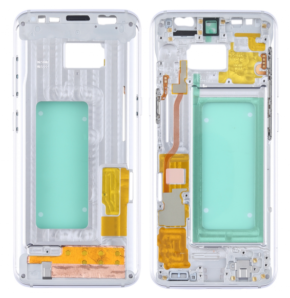 Middle Frame Bezel for Galaxy S8 / G9500 / G950F / G950A (Silver)