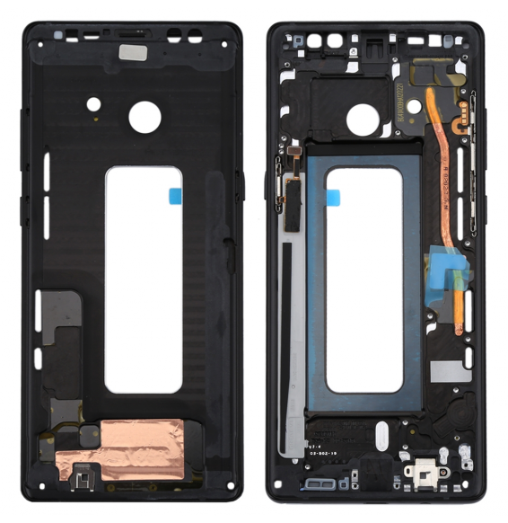 LCD Frame for Galaxy Note 8 / N950 (Black)