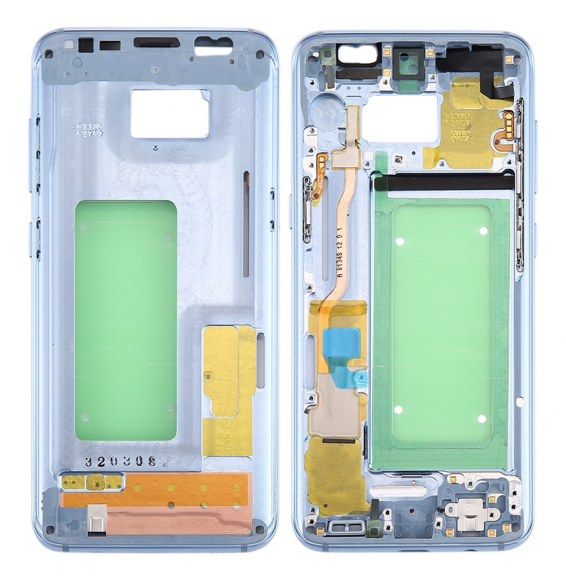 Middle Frame Bezel for Galaxy S8 / G9500 / G950F / G950A (Blue)