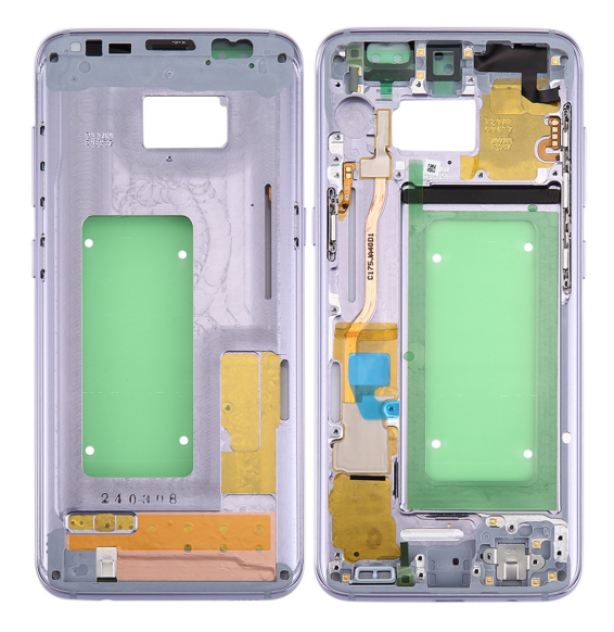 Middle Frame Bezel for Galaxy S8 / G9500 / G950F / G950A (Grey)