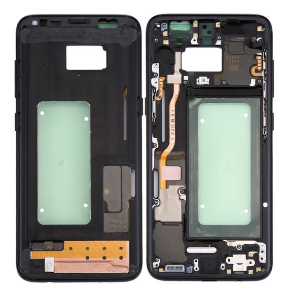 LCD Rahmen für Samsung Galaxy S8 SM-G950 (Schwarz)
