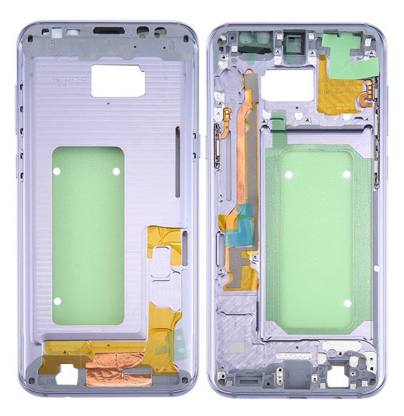 Châssis pour Galaxy S8+ / G9550 / G955F / G955A (gris orchidée)