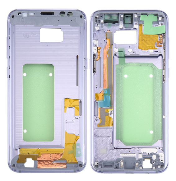 Middle Frame Bezel for Galaxy S8+ / G9550 / G955F / G955A (Orchid Gray)