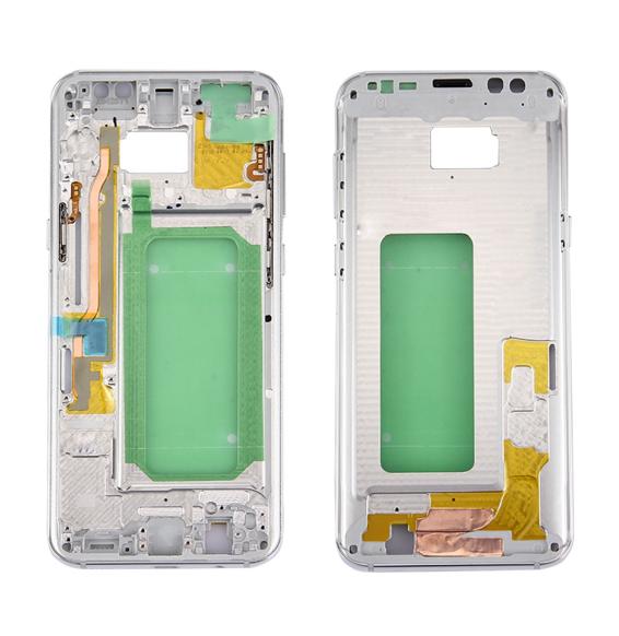 Châssis pour Galaxy S8+ / G9550 / G955F / G955A (argent)