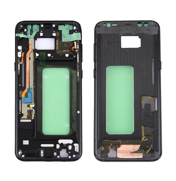 Middle Frame Bezel for Galaxy S8+ / G9550 / G955F / G955A (Black)
