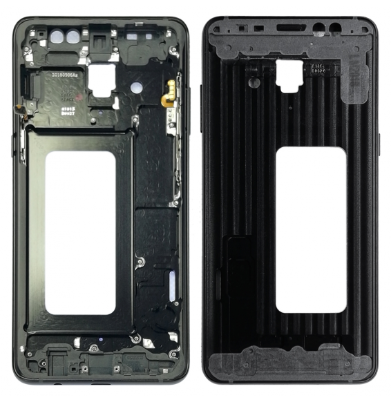 LCD Frame for Galaxy A8+ (2018), A730F, A730F/DS (Black)