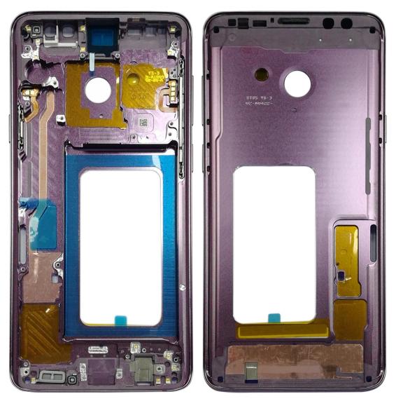 Châssis LCD pour Samsung Galaxy S9+ SM-G965 (Violet)