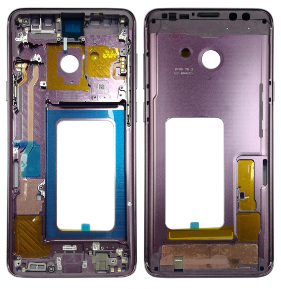 Middle Frame Bezel for Galaxy S9+ G965F, G965F/DS, G965U, G965W, G9650 (Purple)