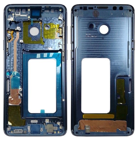 Châssis pour Galaxy S9+ G965F, G965F/DS, G965U, G965W, G9650 (bleu)
