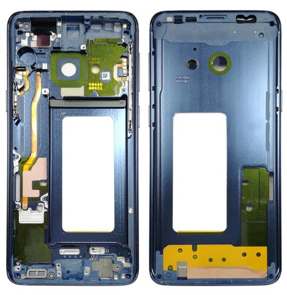 LCD Rahmen für Samsung Galaxy S9 SM-G960 (Bleu)