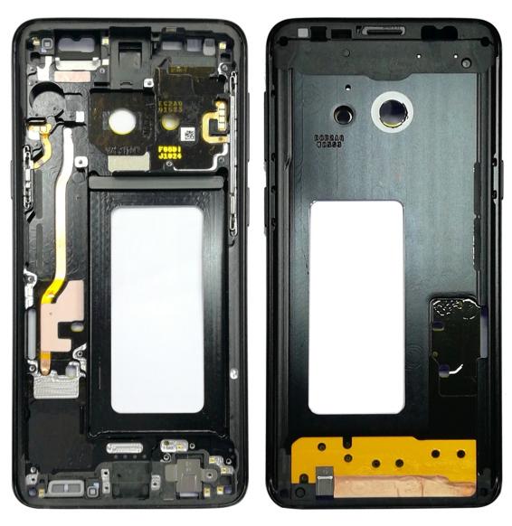 Middle Frame Bezel for Galaxy S9 G960F, G960F/DS, G960U, G960W, G9600 (Black)