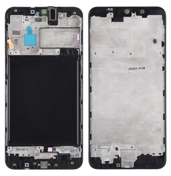 LCD Frame for Galaxy A10 (Black)