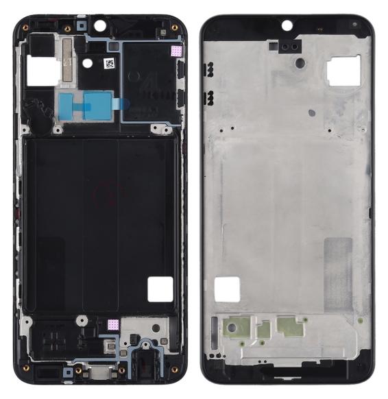 LCD Rahmen für Samsung Galaxy A40 SM-A405F (Schwarz)